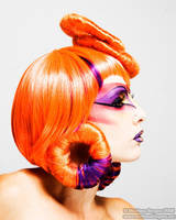 Pop Art: Orange - Side View by BeccyBex