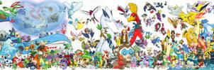 493 Pokemon Assemble by Ninja-Jamal