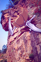 Wild Kabutops in the Canyon by Ninja-Jamal