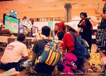 Wild Pokemon Anime Expo 2013 in Gaming room by Ninja-Jamal