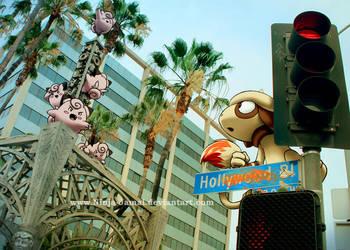 Wild Pokemon in Hollywood by Ninja-Jamal