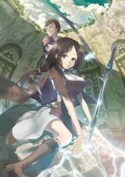 Crisis of Fallen Goddess 'YURIS' by taira-kato