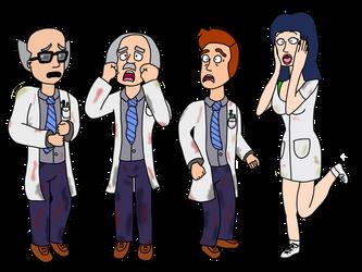 Half-Life Alpha Scientists by Cuddlesnowy