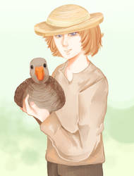 holding the goose by ChaynikTeapot