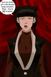 Avatar: Mai Is Not Amused by SuraKuraAnon