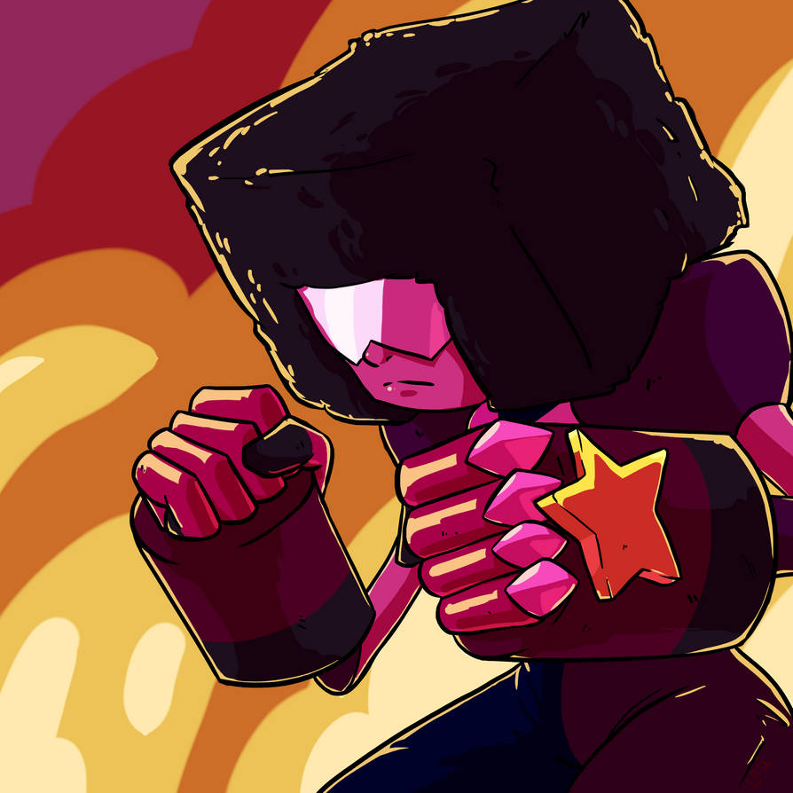 ANOTHER EXPLOSION!!! I finally got Krita working properly again, hopefully it wont hate me again soon. BUT, here's a Garnet drawing to celebrate it! Enjoy! ^^