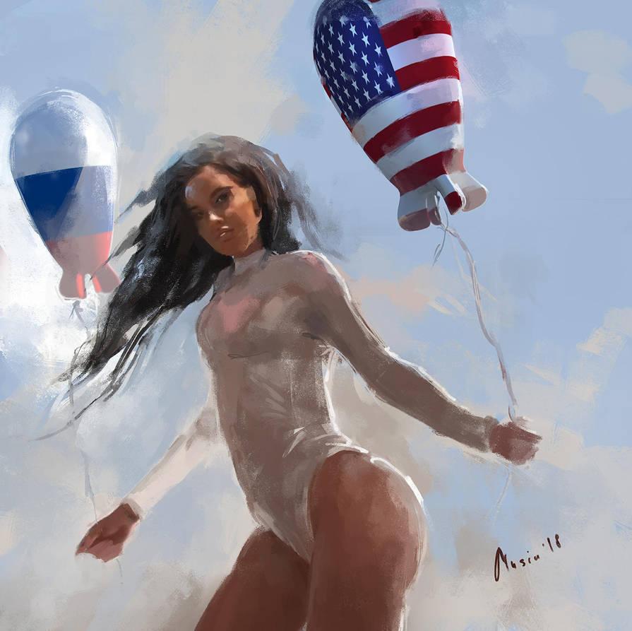 Baloon Lady by samice