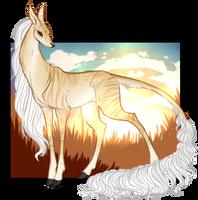 Ilona | Silverthorne Doe | Firebringer by LeakyTrain