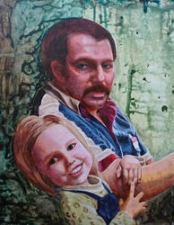 Daddy's Little Girl by quiltineb