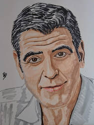 George Clooney by quiltineb