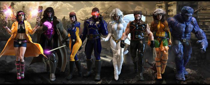X-MEN (90s) by JArtistfact