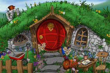 The Shire - Finished! by Fairy-Nuff