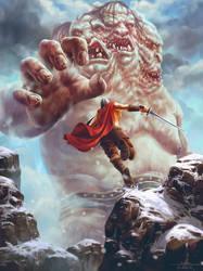 Remake - Giant vs Warrior by Feig-Art