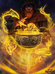Dagda's Cauldron by Feig-Art