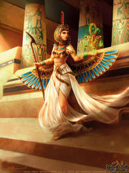 Maat Incarnate by Feig-Art