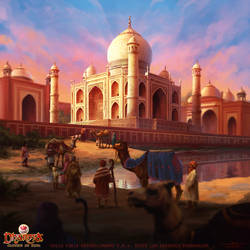 Taj Mahal by Feig-Art