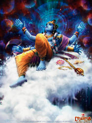 Dream of Vishnu by Feig-Art