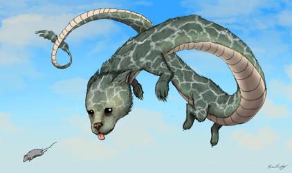 Paw Dragon by BrianJMurphy
