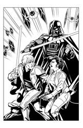 Star Wars Tribute by silvanobeltramo