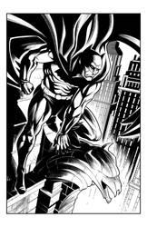 Batman by silvanobeltramo