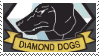 Diamond dogs stamp by hollyleafe