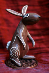 El-ahrairah, Prince of Rabbits by dischordiasnightmare