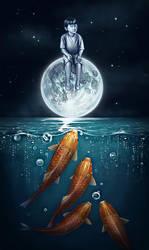 He is the Moon by Cyfrolit