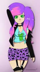 Lynn Being Cute by Octavariumguy