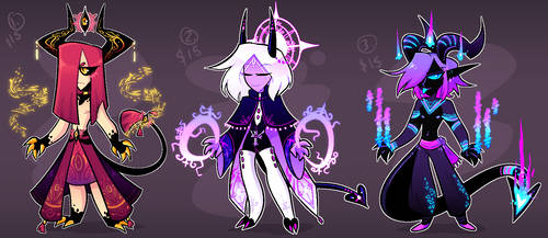 Demon Adopts (CLOSED) by frogtax