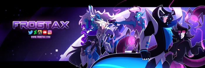 2019 Twitter Banner by frogtax