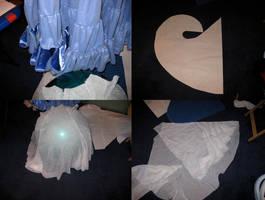 25 yard skirt- in progress by MegamiJadeheart