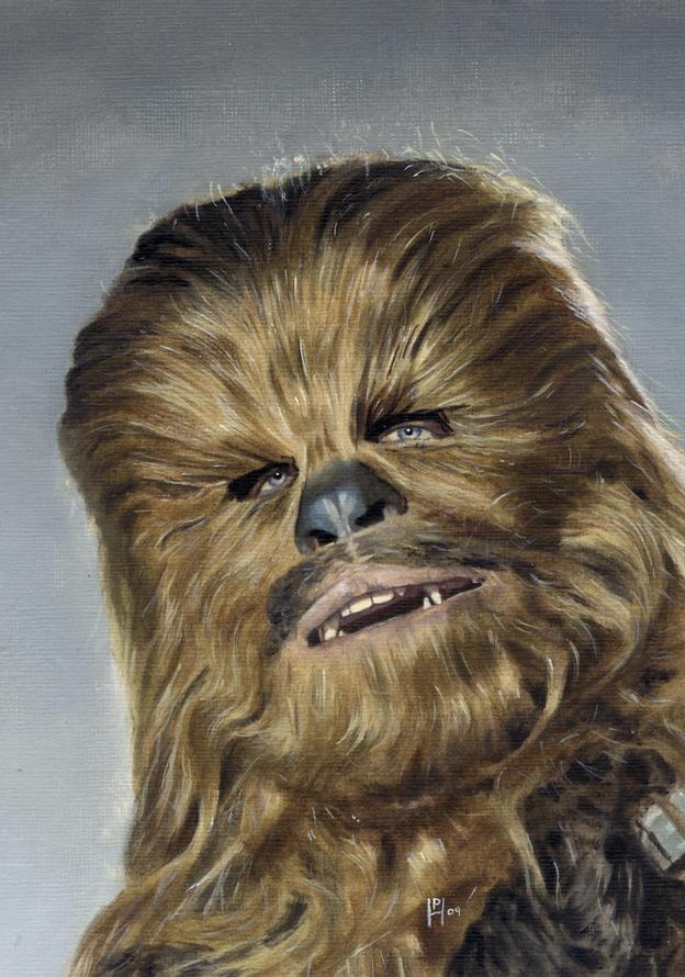 Chewbacca by DryJack