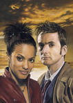 Dr Who and Martha by DryJack