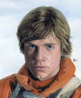 Luke Skywalker by DryJack