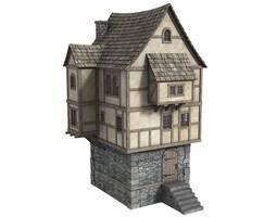 Fantasy House 4 - Freebie by DryJack