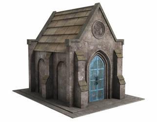 Fantasy Mausoleum Freebie by DryJack