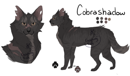 Cobrashadow (warrior cat oc) by CoughingFish