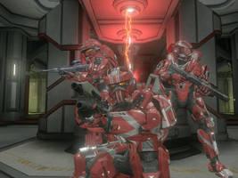 Fireteam Crimson by Aurik-Kal-Durin