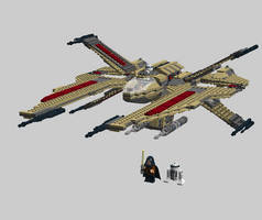 LEGO A-90 Scorpion Starfighter by Aurik-Kal-Durin