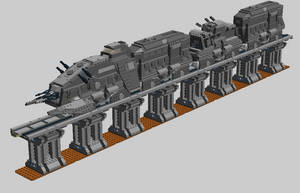LEGO Star Wars - Armored Hover Train by Aurik-Kal-Durin