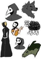 SCP Sketchdump by Limelines