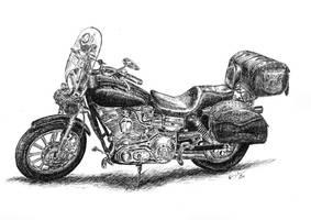 Harley-Davidson by czajka