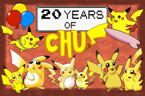 20 Years of Chu by TerraTerraCotta