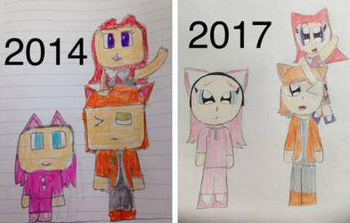 2014 to 2017 (update on my art) by tiernans