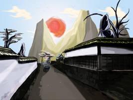 japanese scenary by m3gadude