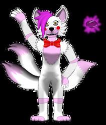Mangle Funtime Fox by hibridofazber