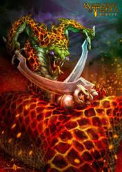 Yuan-Ti warrior by manuel287