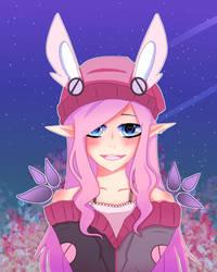 anime lady xd by Azerex