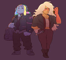 Bismuth n Jasper by catharticaagh