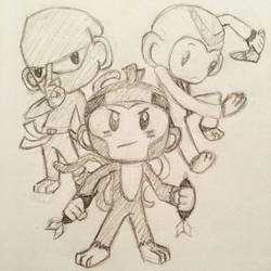 Bloons tower defense sketch by rio-is-ok